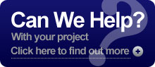 Can we help with your project?